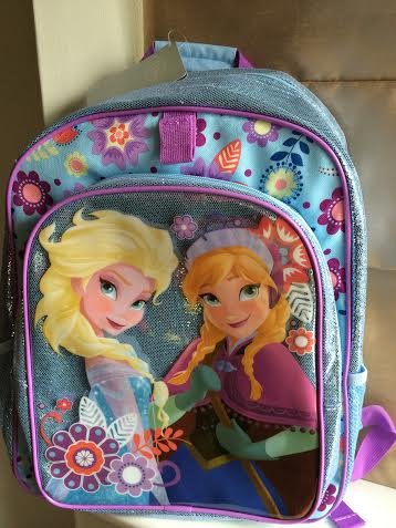 Disney, Reine des Neiges - sac à dos / cartable - Anna et Elsa image
