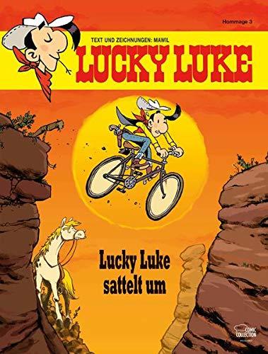 Lucky Luke sattelt um: Eine Lucky-Luke-Hommage von Mawil