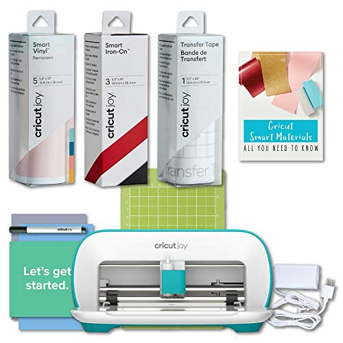 Cricut Joy Machine - Portable DIY Decal and Tshirt Designs Maker Bundle