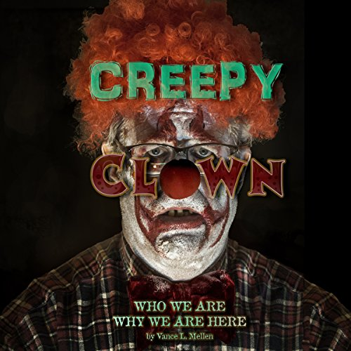 Creepy Clowns audiobook cover art