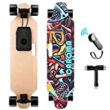 Caroma Elektro Skateboard 90cm(36') mit Drahtloser Bluetooth...