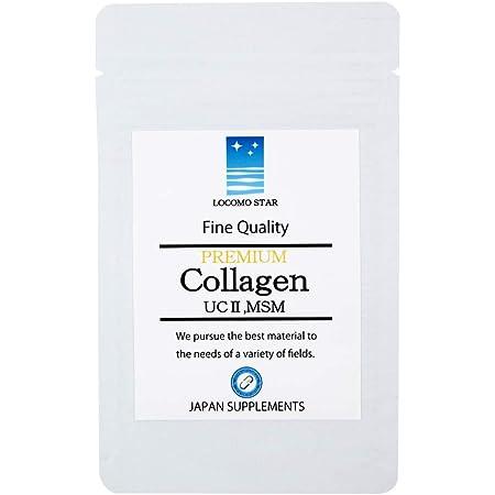 非変性Ⅱ型コラーゲン UC-2 MSM コンドロイチン PREMIUM Collagen 30粒 30日分