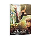 GNKIO Movie Posters Lost in Translation Leinwand Kunst