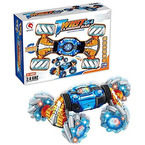 Verloco op afstand bedienbaar gebarenspeelgoed, 2,4 G, RC-speelgoed, hyun derive, vier aandrijfwielen, kerstcadeau, ideaal voor auto, speelgoed, met USB-kabel en accu