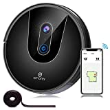 amarey A900 Robot Vacuum, Wi-Fi Connected Robotic Vacuum Cleaner with Visual Mapping, Compatible with Alexa, APP Control, Super Quiet, Self-Charging, for Pet Hair, Hard Floor, Carpet Cleaning