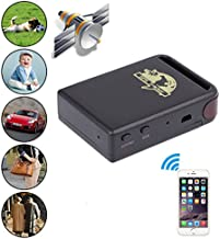 vgyhf Tracking Device,Mini Vehicle GSM GPRS GPS Tracker Car Vehicle Tracking Locator TK102B for Vehicles No Monthly Fee,Bike,Car,Travel,Key Finder,Smart Watch,Personal Safety,Travel