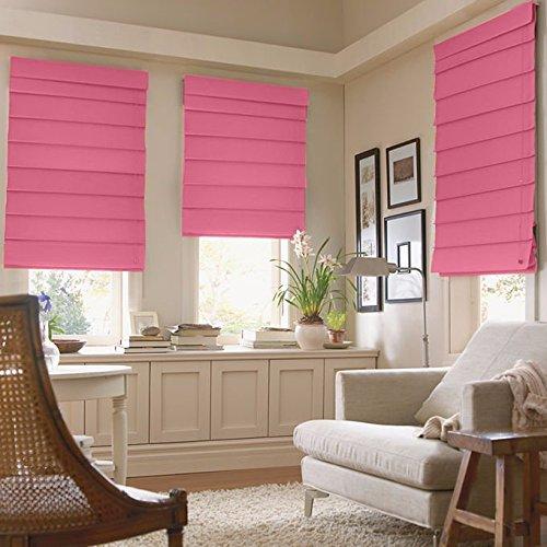 JCPenney Home Decorative Savannah Roman Shade (27' X 64') Maui Pink