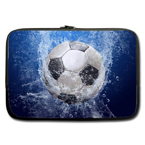 Fútbol balón de fútbol (doble lados) resistente al agua funda de ...