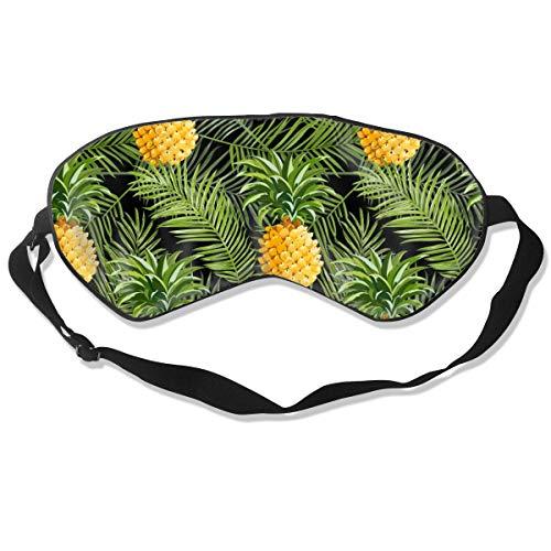 Gelbe Ripe Ananas Frucht Schlaf Augenbinde Augenmaske Augenbinde Lidschatten Abdeckung Licht...