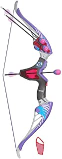 Nerf Rebelle Agent Bow Blaster with purple arrows