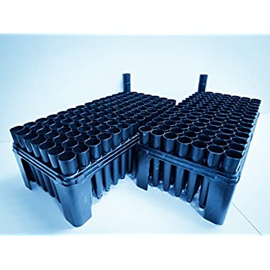 2 Tree Seedling Trays (RL98) with 200 Cells (SC10R)