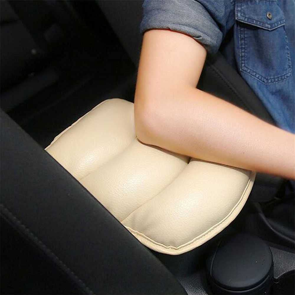 MIOAHD Car Armrests Cover It is very popular Arm Rest Seat Mat Box for Max 72% OFF Fit Soft PU