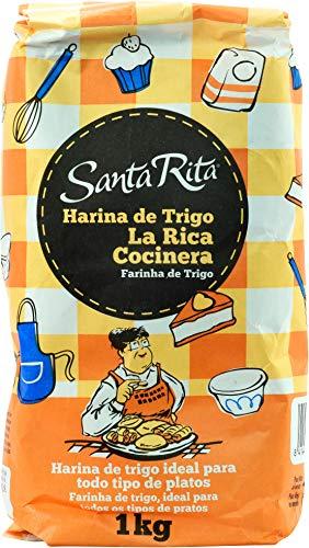 Harina de Trigo Santa Rita La Rica Cocinera 12 paquetes de 1