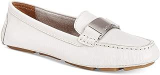 Calvin Klein Women's Lisette Loafer Flat, Soft Platinum, 8 M