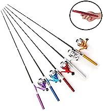 【オルルド釣具】ペン型ロッド & スピニングリール セット 「テトルドB2」 <軽量でコンパクトなポケット釣竿/仕舞寸法:21cm 伸長時:約100cm> qb300079