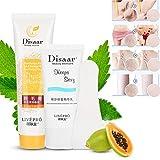 Juego de crema para depilación de cabello, unisex, sin dolor, potente, suave, crema...