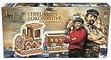 Jim Knopf und Lukas Lebkuchen Lokomotive Bastelsatz Lebkuchenhaus mit Figur