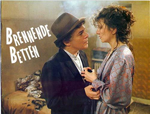 Brennende Betten - Pia Frankenberg - Ian Dury - Gerhard Garbers - Presseheft