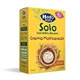HERO SOLO Crema Multicereali BIO, Cartone da 6 Confezioni x 300gr...