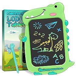 2. CHEERFUN Store LCD 10″ Dinosaur Writing Tablet