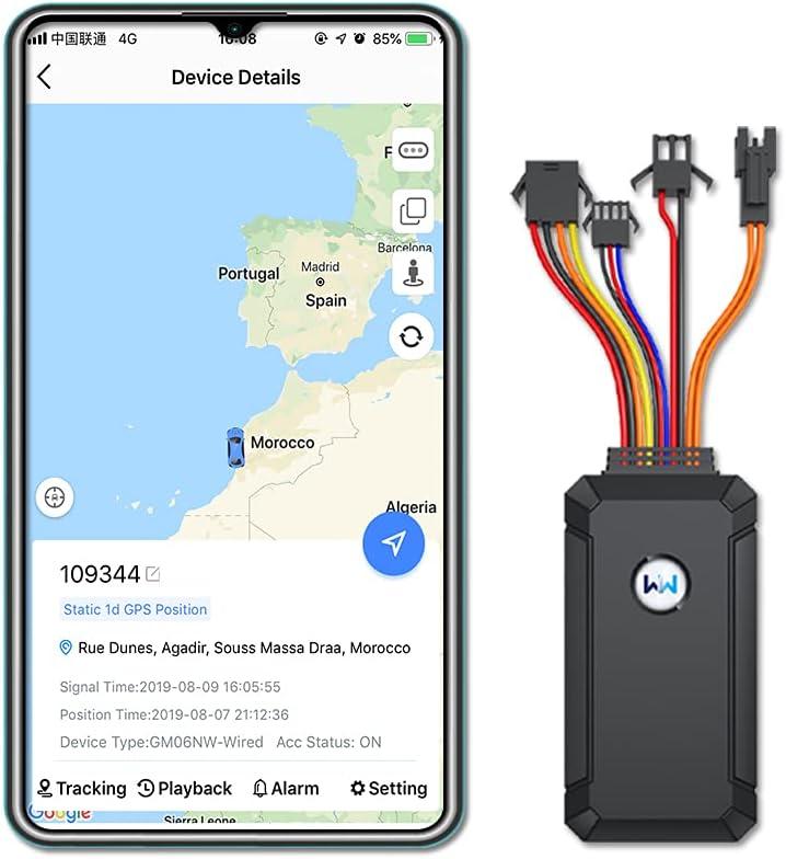 Wanwaytech GPS Tracker for Vehicle