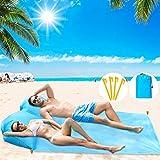 BHeadCat Esterilla portátil con almohada de aire, no necesita herramienta inflable, ultraligera y compacta impermeable para tomar el sol, camping, picnic, viajes, al aire libre, senderismo