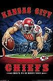 Trends International NFL Kansas City Chiefs - End Zone 17 Wall Poster, 22.375' x 34', Unframed Version