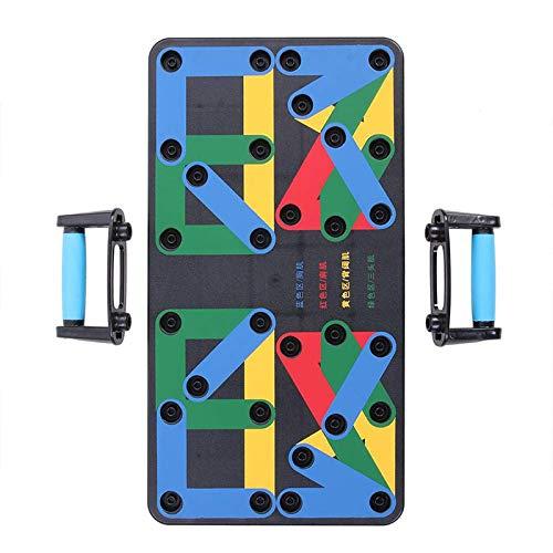 Página de inicio almohadillas push-up portátiles Múltiples métodos de ejercicio Cómodo apretones Equipo de fitness Multifuncional Fitness board