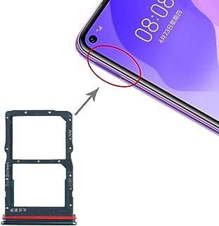 携帯電話の交換部品 for Huawei Honor 30 / Nova 7 SE用SIMカードトレイ+ NMカードトレイ スマートフォン修理パーツ