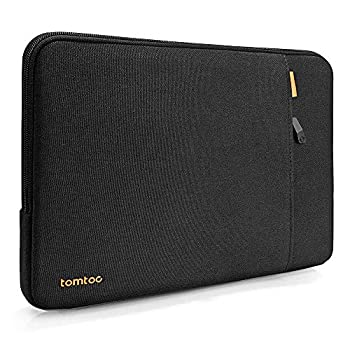 tomtoc Recycled Laptop Sleeve for 15 Inch Microsoft Surface Laptop 4/3 2020 Dell XPS 15 15 MacBook Pro A1990 A1707 ThinkPad X1 Yoga  1-4th Gen  HP Acer Chromebook 14 360 Protective Waterproof Bag
