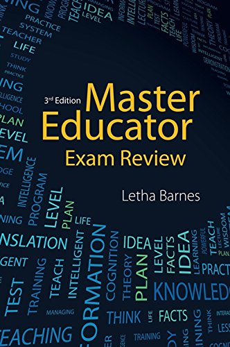 Compare Textbook Prices for MASTER EDUCATOR EXAM REVIEW-3E 3rd ed. Edition ISBN 9781133776598 by Barnes, Letha