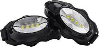 Knuckle Lights Original – LED Lights Running Flashlight - 2 Units Provide Super Bright Illumination for Running at Night, Walking in The Dark, Hiking, Camping, Dog Walking and More