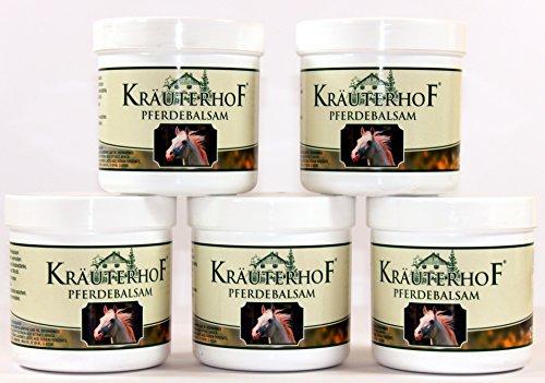 Pferdebalsam Kräuterhof je 250ml Creme Kühlend & Belebend Salbe (2 Stück) - 575