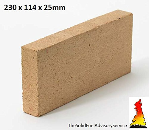 5 X Placa de Arcilla Refractaria 400 x 200 X 30mm Ladrillo Piedra Horno Pizza