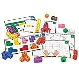 ラーニング リソーシズ (Learning Resources) ブロック おもちゃ 算数キューブ アクティビティセット 115ピース入り LER4286 正規品