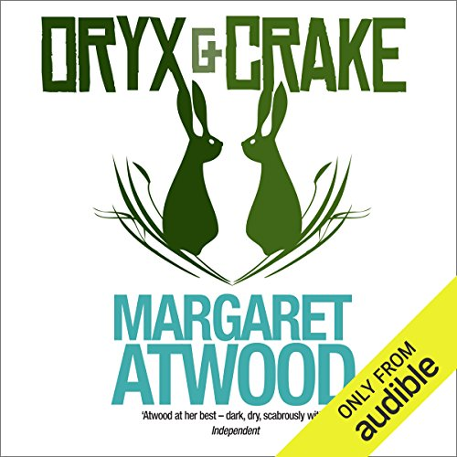 Oryx and Crake  audiobook cover art
