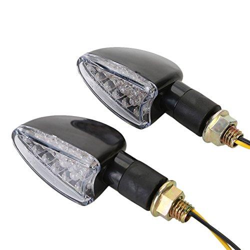 OSAN 2x Motorrad Universal LED Blinker Blinkleuchte Lampe (B)