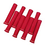 labwork Red 8pcs 1200° Spark Plug Wire Boots Heat Shield Protector Sleeve Fit for SBC BBC