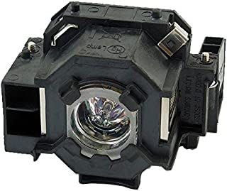 BORYLI ELPLP42 Compatible Projector Lamp with Housing for PowerLite 822p 83c 400W 410W 822+ 822p 83+ 83V+; EX90 H281B H371A; EB-410W 410WE; EMP-280 400 400W 400WE 410W 822 822H