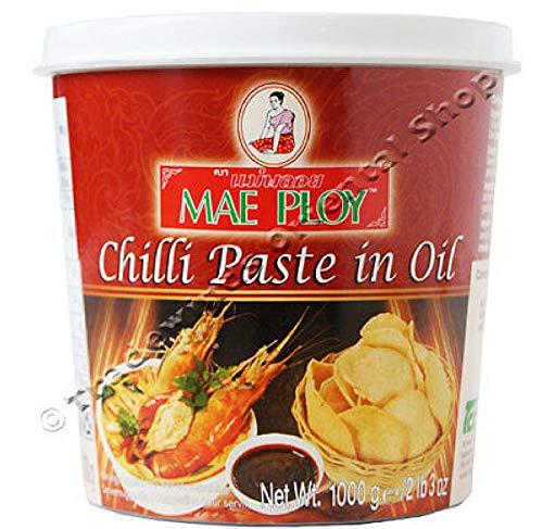 Mae Ploy Chili-Ölpaste - 1 kg, aus Thailand