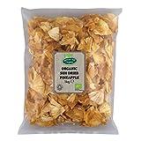 Piña orgánica secada al sol, 1 kg (sin azúcar añadido) por Hatton Hill Organic