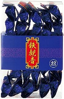 中国 土産 鉄観音 ミニ 40袋セット (海外旅行 中国 お土産)