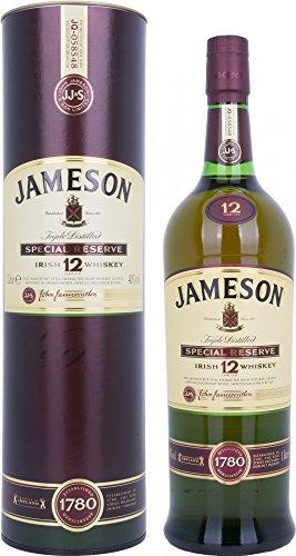 Jameson 1780 Irish Whiskey 12 Years Old mit Geschenkverpackung (1 x 1 l)