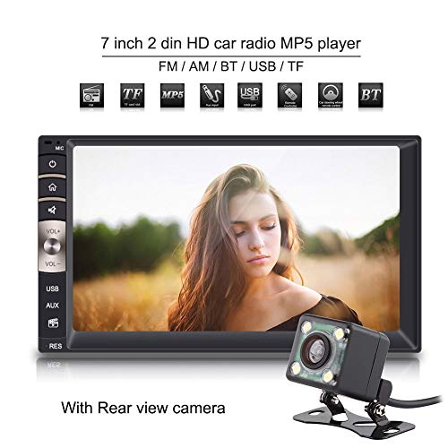 Auto-speler met Bluetooth, auto-speler Mp5 MP3 / USB/FM-radio Android auto-muziek-filmspeler