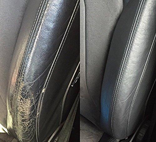 Kit de rénovation peinture Spallina siège retouche cuir Mercedes Benz Slk accent Rouge 60 ml