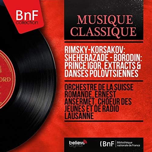 Orchestre de la Suisse Romande, Ernest Ansermet, Chœur des Jeunes et de Radio Lausanne