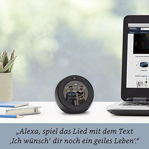 Amazon Echo Spot – Schwarz - 4