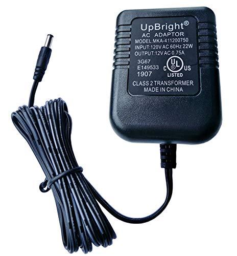 UpBright 12V AC Adapter Compatible with Homedics FAU120-030A A9400-01 PP-ADPEWF1 Jebao JBA35U-12-400 RadioShack 15-1963 T35-120400-A01 KA12A120020023U Ktec KA12A120030033U KA12A120040033U Power Supply