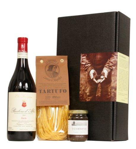 Geschenk-Set Deluxe - Für Trüffelsucher (edle Feinkost & Wein aus Italien)