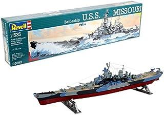 Revell- USS Missouri 1944-1945 Maqueta Acorazado, 10+ Años, Multicolor (05092)